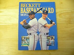 Beckett Baseball Card Monthly Magazine - November 1989 (Mitchell & Clark) - VIN.