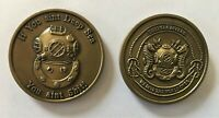 US Military Deep Sea Diver Challenge Coin MK V Hard Hat Master Diver Army Navy
