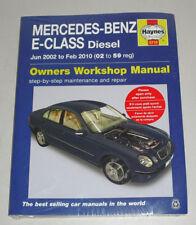 Reparaturanleitung Mercedes W211 E 220 270 280 320 CDI, Baujahre 2002-2010