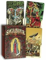 Santa Muerte Tarot Deck: Book of the Dead by Listrani, Fabio Book The Fast Free