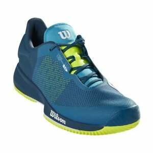 Wilson Kaos Swift M Men's Tennis Shoes Blue Racquet Racket NWT WRS327550