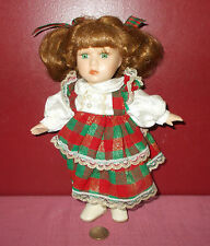 Vintage Dandee Collectors Series Doll Christmas Style ^