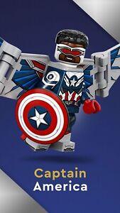 LEGO 71031 Marvel Studios Minifigures No. 5 - Captain America - New & Sealed