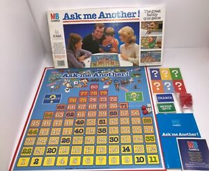 Ask Me Another! Vintage Board Game MB 1983 PART SEALED