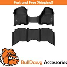 SMARTLINER for Dodge RAM Crew Cab With One Piece Front Row Complete Set (Black)