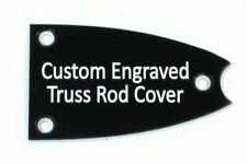Custom engraved Truss Rod Cover fits many Epiphone® Broadway, Casino, etc.