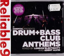 Shapeshifter+High Contrast+Temper Trap+Sonic- Drum+Bass Club Anthems 2CD Sealed