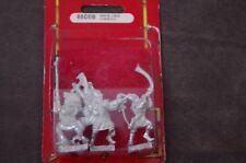 Warhammer High Elves White Lions Command, metal metal, postrada blister OOP