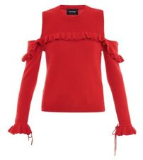 Pull The Kooples T1 - Epaules ouvertes - Rouge - Superbe et doux - Sold Out !