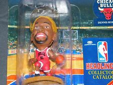 #105 1996 DENNIS RODMAN NBA HEADLINERS ACTION FIGURE CHICAGO BULLS(RED HAIR)