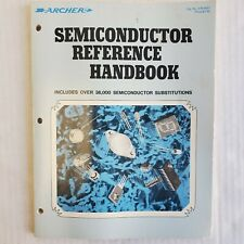 1977 Radio Shack Tandy Archer Semiconductor Reference Handbook Transistor