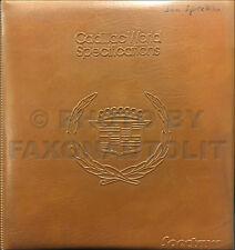 1982 Cadillac Competitive Comparison Guide Dealer Album Deville Eldorado Seville