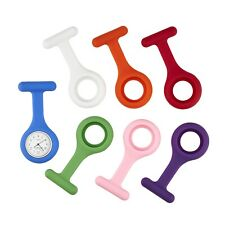 Annie Apple Silicon Plastic Nurses Nurse Fob Watch 7 interchangeable straps GIFT