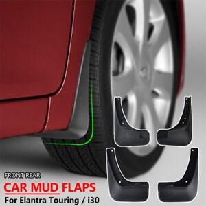 For Hyundai i30 i30cw 07-12 Splash Guards Mudguard Mudflaps Set Molded Mud Flaps