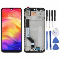 Für Xiaomi Redmi Note 7 und Pro Display Full LCD Touch Rahmen Ersatz Schwarz RHN