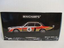 (gol) 1:18 Minichamps BMW 3.5 CSL Group 5 Winner 6H Silverstone 1976 NIP
