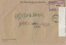 M 2719 Northern Ireland FPO 159 cds OHMS April 1975 cover BFPO 801, HQ Lancers