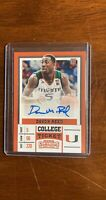 Davon Reed 2017-18 Contenders 134 ROOKIE AUTO AUTOGRAPH RC Miami