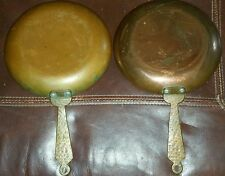 2 Leumas Handcrafted  Hammered Copper Saute' Pan