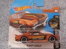 Hot Wheels 2017 # 212/365 1970 CHEVY CHEVELLE Bronce HW nightburnez