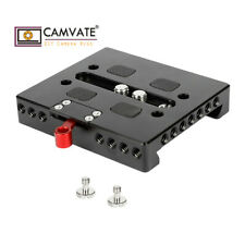 CAMVATE Quick Release Baseplate W/ Locking Lever For ARRI Dovetail Bridge Plate