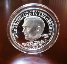1oz.~.999 FINE PROOF SILVER~RON PAUL~LIBERTY~Coin Round Medallion 2008