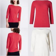 Acrylic Boat Neck Thin Knit Jumpers & Cardigans for Women