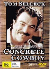 CONCRETE COWBOY Tom Selleck DVD - All Zone - New - PAL