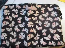 Used Marc by Marc Jacobs Black & Pink Pinwheel Laptop Sleeve - Great Condition