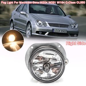Right Passenger Fog Light Lamp For Mercedes-Benz W204 W251 W164 C-Class CL550 RH
