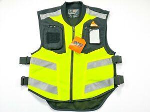 5.11 Tactical Hi Vis MSP Reflective Multi Pocket Tactical Military Law Vest NEW