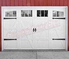 Garage Door Decorative Hardware Steel Hinges and Pulls