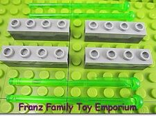 New LEGO Star Wars Weapon x4 Spring Loaded CANNON and Green Missile DARTS Parts