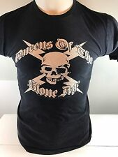 Queens Of The Stone Age tshirt Size Small Black Color Skull And Cross Bones USA