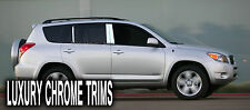 Toyota RAV4 Stainless Steel Chrome Pillar Posts by Luxury Trims 2006-2012 (6pcs)