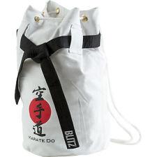 Duffel BAG Sack Canvas White Karate Do Bag Karate Shotokan Okinawan kobudō Funakoshi