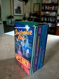 Christopher Pike Books Lot Gift Set Of 4 Paperbacks Box Set CHEAP SHIPPING
