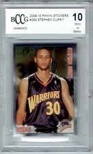 2009-10 Stephen Curry Panini Stickers #263 BCCG 10
