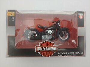 Maisto 1948 FL Panhead Harley Davidson Motorcycle 1:18 Series 8 NIB