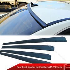 16-20 For Cadillac ATS-V Coupe Rear Roof  SPOILER WING UNPAINTED