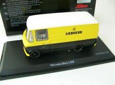 Camions miniatures noirs Schüco