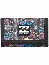 BILLABONG MENS WALLET.ATOM TRIFOLD HOOK LOOP CREDIT CARD MONEY PURSE 8S WL01 10