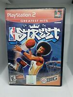 NBA Street (Sony PlayStation 2, 2001) PS2 Basketball Game Complete  CIB.