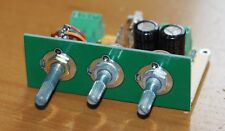 Passive stereo tone control w/ loudness button assembled low distortion !