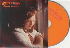 KATHRYN WILLIAMS Monday Morning UK 4-trk promo CD Bruce Springsteen