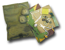 1 ARMY ISSUE WATERPROOF HOUSEWIFE KIT: BUTTONS, THREAD, MATERIAL... [20002]