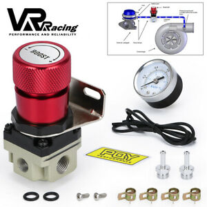 1-150PSI Adjustable Manual Turbo Charger Boost Controller With Gauge Universal