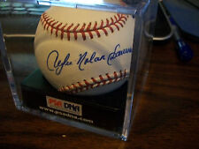 ANDRE NOLAN DAWSON INSCRIBED AUTOGRAPHED BALL CHICAGO CUBS PSA 9.5