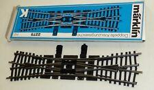 Märklin 2275 K-Gleis Doppelte Kreuzungsweiche Vollprofil OVP sehr guter Zustand