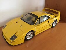 Ferrari f40 Yellow with yellow seats 1:8 Pocher-Excellent état